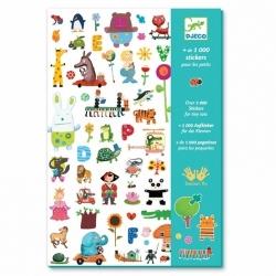 + de 1000 stickers pour les petits