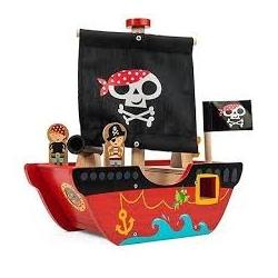 Bâteau pirate du p'tit capitaine