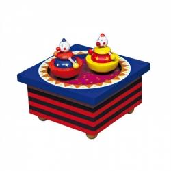 Boîte à musique magnétique cirque