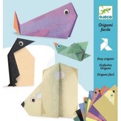Origami facile Les animaux polaires