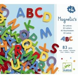 Jeu magnétique 83 petites lettres majuscules