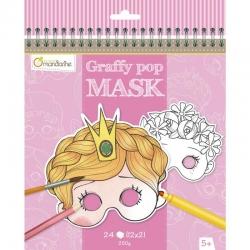 Graffy pop Masque fille
