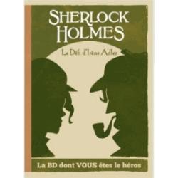BD jeu Sherlock Holmes T4 Le défi d'Irène Adler