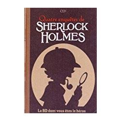 BD jeu Sherlock Holmes T2 Quatre enquêtes