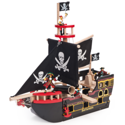 Le bâteau pirate de Barberousse
