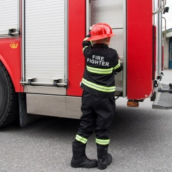 Déguisement Pompier et casque