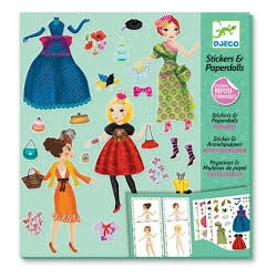 Stickers et Paperdolls Top mode