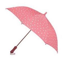 Parapluie fushia à pois
