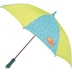 Parapluie poisson rouge
