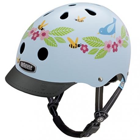 Casque de vélo - Nutcase - Blue birds and bees  XS