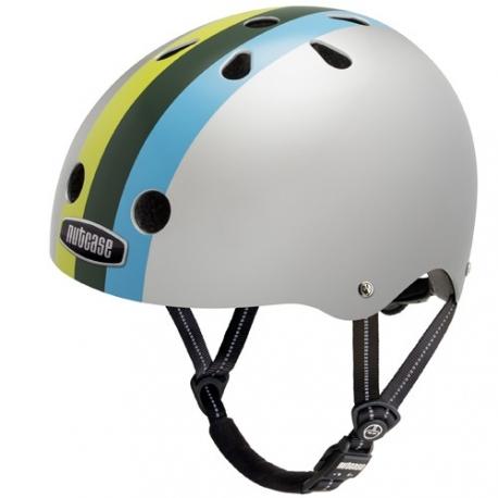 Casque de vélo - Nutcase - Varsity Stripe M