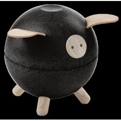 Tirelire cochon Noir