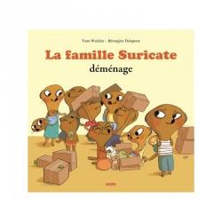 Mes p'tits albums - La famille Suricate déménage
