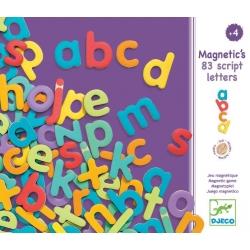 Jeu magnétique 83 lettres minuscules