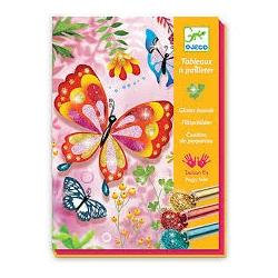 Tableau à pailleter Papillon
