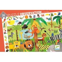 Puzzle observation jungle 35 pcs