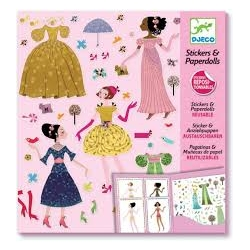 Stickers & paperdolls robes 4 saisons