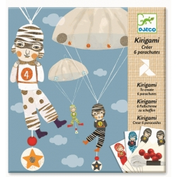 Kirigami Parachutes