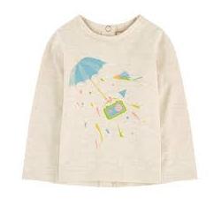 T-shirt Naomie crème 12m