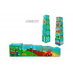 Cubes à empiler Jumbo