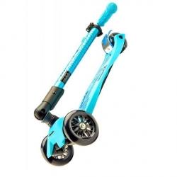 Trottinette Micro Maxi Deluxe pliable bleue