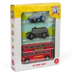 Les véhicules de Londres