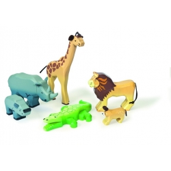Les animaux de la savanne