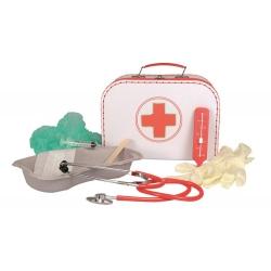 Valise de docteur avec accessoires