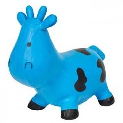 Sauteur vache bleu