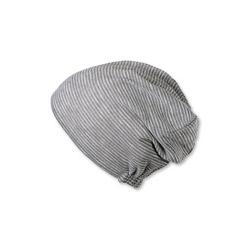 Bonnet Beanie long rauchgrau 51