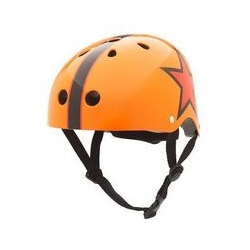 Casque de vélo - Coco étoiles orange S 46/53