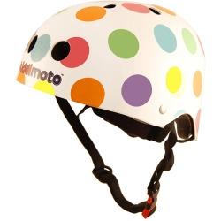 Casque de vélo - Kiddimoto points de couleurs M 53/58