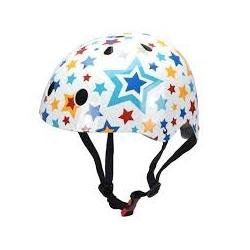 Casque de vélo - Kiddimoto étoiles multicolor S 48/53