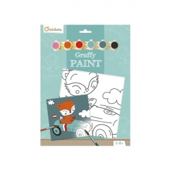 Graffy paint Renard pilote
