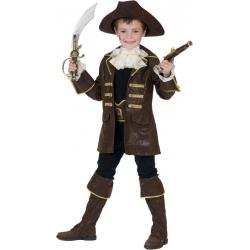 Déguisement de capitaine de pirate