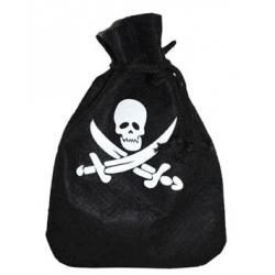Bourse pirate noire