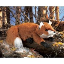 Marionnette renard rouge petit