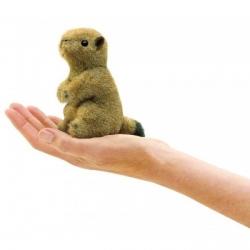 Marionnette chien prairie mini