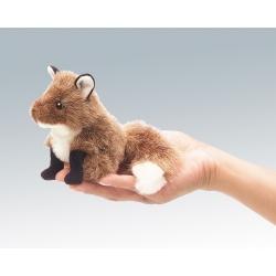 Marionnette à doigt renard