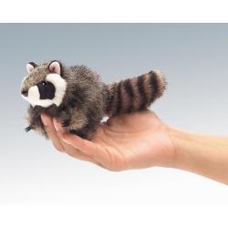 Marionnette à doigt raton laveur