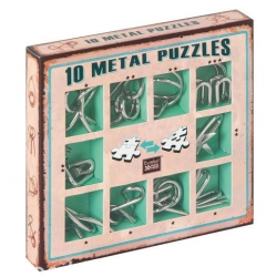 Casse tête métal 10 - Boite Verte