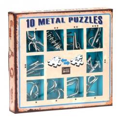 Casse tête métal 10 - Boite Bleue