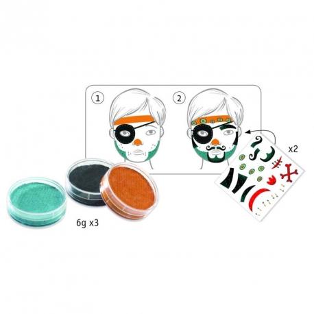 Maquillage - pirates