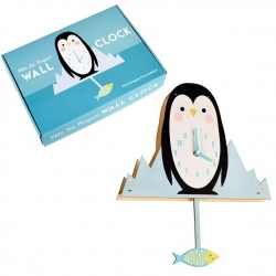 Horloge Milo le pinguin