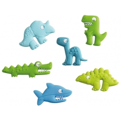 Marque-verres dinosaures
