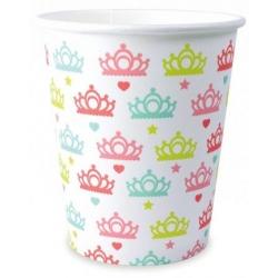 Gobelet princesse 25cl 8pièces