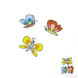 Sticker papillons 1