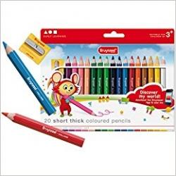 Crayons de couleur 20 pièces