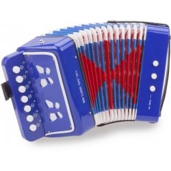 Petit accordéon bleu