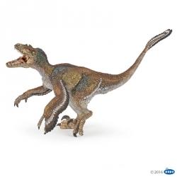 Velociraptor a plumes